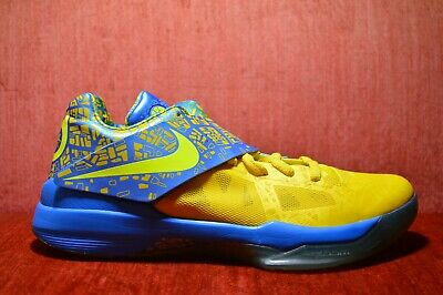 14e3074a9f76 CLEAN 2012 Nike Zoom KD IV 4 Scoring Title KEVIN DURANT 473679 703 Size 10