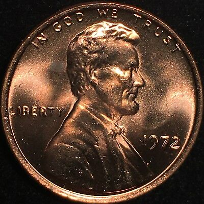 1972 Lincoln Cent Double Die Obverse ** Incredible ** 72 Ddo Rare Bu Gem +++++++