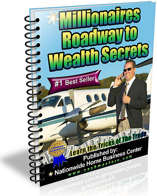 Millionaires Roadway To Wealth Secrets Pdf Ebook Free Shipping Resale Rights