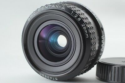 **NEAR MINT** SMC PENTAX-A 28mm F/2.8 K mount Wide Angle MF Lens