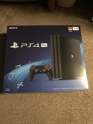 Brand New Sony PlayStation 4 PS4 Pro 1TB Black Console CUH-7215B NEWEST VERSION