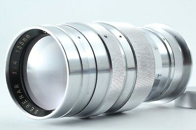 **EXCELLENT++** Canon Serenar 135mm f/4 Leica L39 Screw Mount Silver Lens