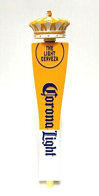 """Corona Light Cerveza Crown Tap Handle ~ New In Box & Free Shipping - 13"""" Tall"""