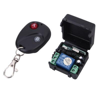 Wireless Remote Control Switch DC12V 10A 433MHz Transmitter with Receiver