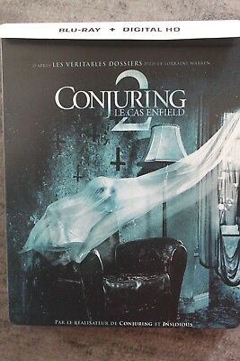 BLU-RAY  STEELBOOK  CONJURING 2 (visionné une fois)+ LE 1 OFFERT