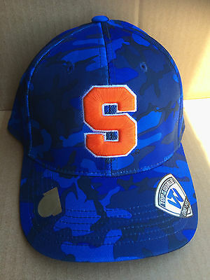 new york 60d85 20985 Syracuse Orange Top of the World NCAA Gulf Camo One-Fit Cap, size