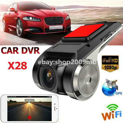 X28 FHD 1080P 150° Dash Cam Car DVR Camera Recorder WiFi ADAS G-sensor 1G DDR
