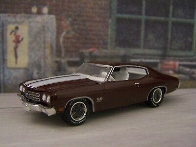 Chevy 70 1970 Chevelle SS 454 Cowl Induction Hood Collectible 1/64 Diorama Model