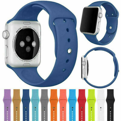 Replacement Sport Watch Band Strap for Apple Watch iWatch Series 4/3/2/1 S/M M/L