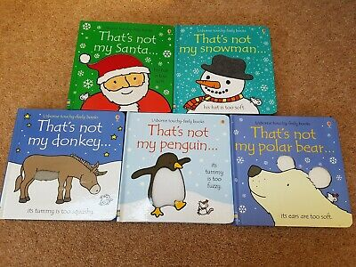 Children's Usbourne touchy-feely books - That's not my ...series