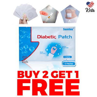 Diabex™ Natural Patch - 6Pcs - BUY 2 SET GET 1 FREE