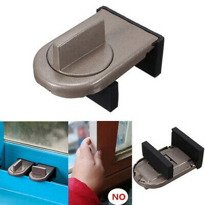 Restrictor Door Safe Sliding Window Safety Catch Kid Child Security Sash Lock UK