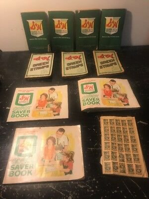 S & H Green Stamps Sperry Hutchinson Full Books And Lot