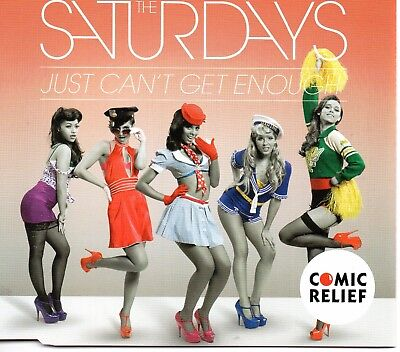 The Saturdays - Just Can't Get Enough     *new Cd Single*