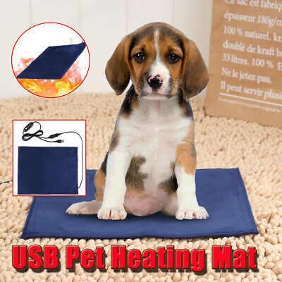 Timing Electric Heater Pet Dog Cat Heating Pad Warmer Mat Blanket Thermal Bed