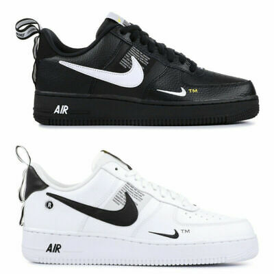 Nike Air Force 1 07 LV8 Utility White / Black Men Woman Shoes Sneakers Pick 1
