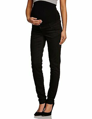 "MAMALICIOUS  - Shelly Over Bump Black Slim Maternity Jeans - 29 30 31 32"" - 32L"
