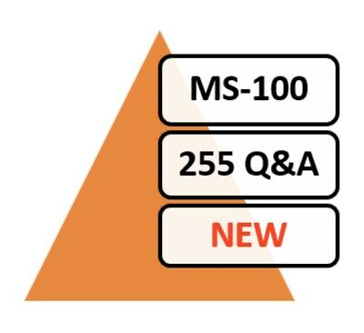 Updated MS-100 Exam 108 Q&A PDF FILE