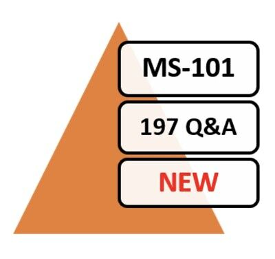 2020 Updated MS-101 Exam 180 Q&A PDF FILE!