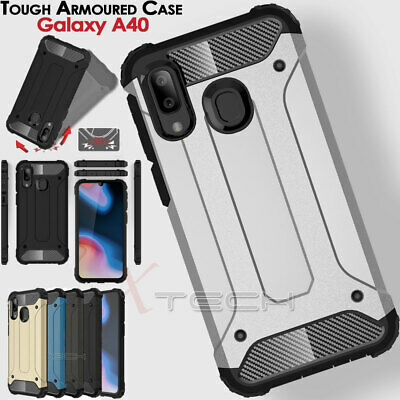 for Samsung Galaxy A40 TOUGH ARMOURED Shockproof Rugged Protective Case Cover