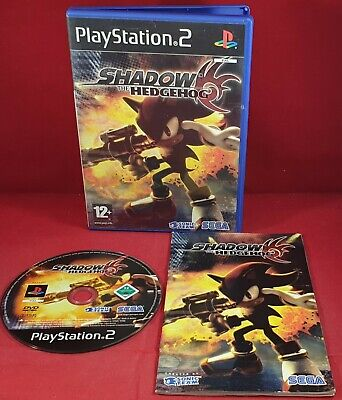 SHADOW THE HEDGEHOG for the Playstation 2 - Complete - £1 99