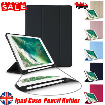 "For iPad 6th Generation 9.7"" Smart Cover Silicone Case with Apple Tablet Pencil"