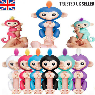 Electronic Happy Baby Monkey Toys Smart Interactive Finger Toy Pet Puppets Kids