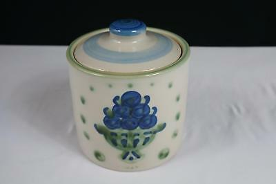 M A Hadley Bouquet Small Canister With Lid