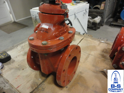"AWWA Gate Valve MUELLER 4"" 250 125/150 FF Flanged Fig: 2362"