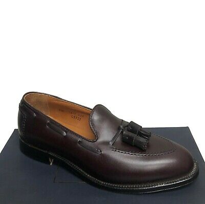 7bb6ff915cfc3 Alden for Brooks Brothers Dark Burgundy New Tassel Loafers Shoes 8.5   12 -  C