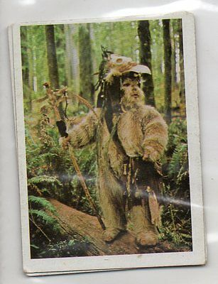 "Star Wars ""El Retorno Del Jedi"" Spanish Trading Card By Pacosa Dos - Number 161"
