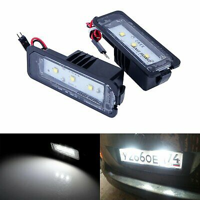No Error LED License Number Plate Light Lamp VW Golf MK4 MK5 MK6 Passat Polo Eos