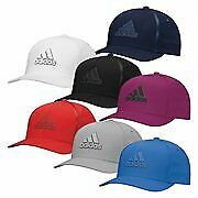 New Adidas Golf Tour Delta Textured Fitted Hat MOISTURE WICKING HEADBAND
