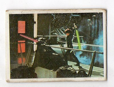 "Star Wars ""El Retorno Del Jedi"" Spanish Trading Card By Pacosa Dos - Number 185"