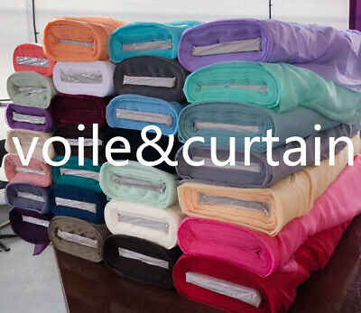 "voile fabric whole Roll 25 colors 150cm (60"") wide super quality wedding drapes"