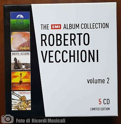 Roberto Vecchioni	The Emi Album Collection Volume 2 **Nuovo Non Sigillato** 5 Cd