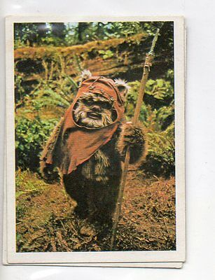 "Star Wars ""El Retorno Del Jedi"" Spanish Trading Card By Pacosa Dos - Number 123"