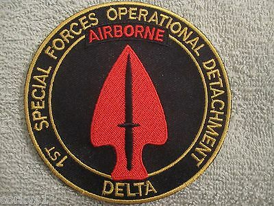 "1st Special Forces Operational Detachment ""Delta Force"" AIRBORNE US ARMY"