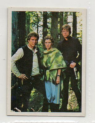 "Star Wars ""El Retorno Del Jedi"" Spanish Trading Card By Pacosa Dos - Number 200"