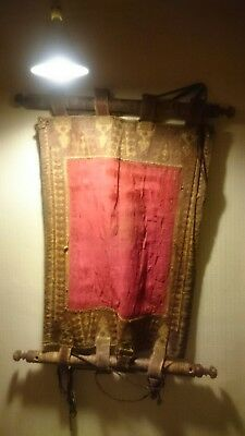 ANTIQUE  WALL HANGING MIDDLE EASTERN BABIES CRADLE  HAMMOCK  18th CENTURY