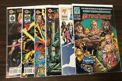 ULTRAFORCE (Malibu) -- #0 to 10 -- Vol 2 #1 to 14 + Extras -- Huge Lot of 31