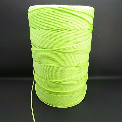 Hi Viz Yellow & Green Fluorescent Guy Line Rope Awning Tent Camping Hiking