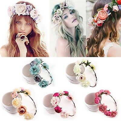 5x Women Girls Hair Band Ties Rope Ring Elastic Hairband Ponytail Hair HolderPDH