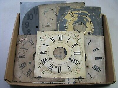 ANTIQUE OG WEIGHT Driven Clock Movement for Parts or Repair
