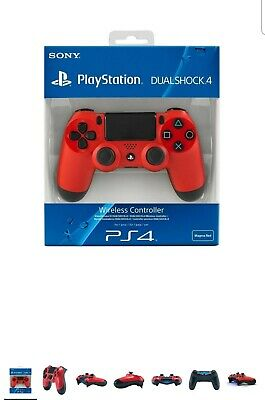 PS4 DualShock 4 Controller RED V2 BRAND NEW SEALED OFFICIAL