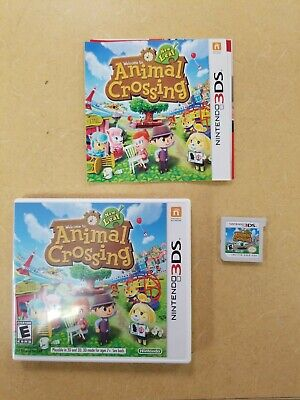 Animal Crossing: New Leaf (Nintendo 3DS, 2013) Complete w/ Case + Manual