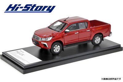 1/43 Hi-Story Toyota HILUX Z (2017) Crimson spark red metallic HS204RE NEW