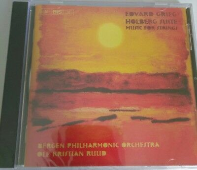 Edvard Grieg Holberg Suite Music For Strings CD Ole Kristian Ruud Classical New