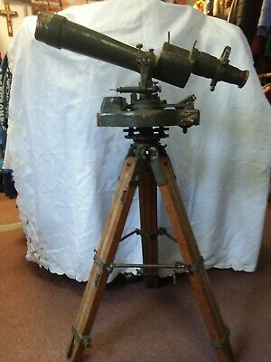Vintage Ww2 1941 Army Telescope With Stand