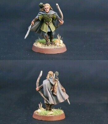 Legolas the three hunters miniature Games Workshop LOTR lord of the rings
